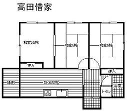 [一戸建] 福岡県福岡市南区曰佐3丁目 の賃貸【/】の間取り