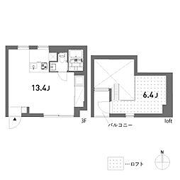 ulula(ウルラ)[3階]の間取り
