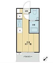 京橋ダイヤモンドマンション[2階]の間取り