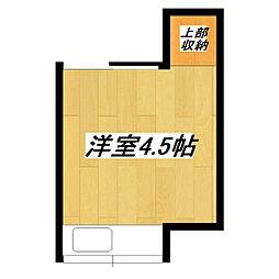 岡本荘[10号室]の間取り