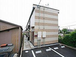 愛知県岡崎市渡町字池田の賃貸アパートの外観