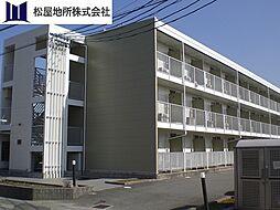 愛知県豊橋市新栄町字汐焼の賃貸マンションの外観