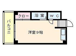 メゾンドール箱崎[302号室]の間取り