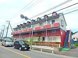 東京都稲城市坂浜の賃貸アパートの外観