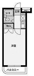 スカイコート多摩川第2[1階]の間取り