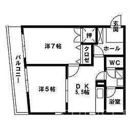 K´S HOUSE 〜ケイズハウス〜[1階]の間取り