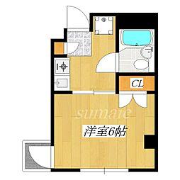 コーポレイトハウスM[301号室]の間取り