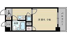トーカン東淀川キャステール[2階]の間取り