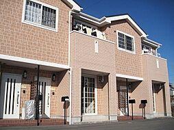 静岡県袋井市愛野南2丁目の賃貸アパートの外観