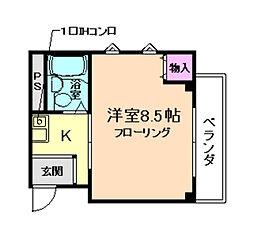 PALO箕面[3階]の間取り