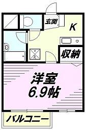 YSマンション[305号室]の間取り