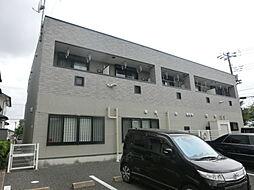 千葉県市原市五井西2丁目の賃貸アパートの外観