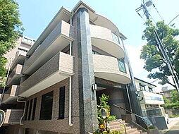 東京都多摩市落合6丁目の賃貸マンションの外観