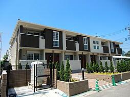 埼玉県川口市大字安行領家の賃貸アパートの外観