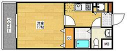 アソシアグロッツォ博多セントラルタワー[2階]の間取り
