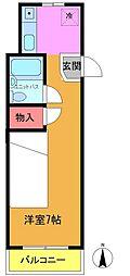 光洋ハイム[2階]の間取り