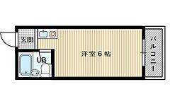 有明ハイツ[4階]の間取り