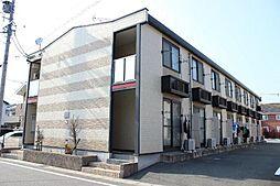 愛知県豊川市平尾町番皿の賃貸アパートの外観