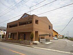 愛知県豊田市駒場町元城の賃貸アパートの外観