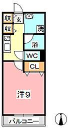 Altura[402号室]の間取り