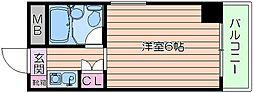 メゾン大和野江[2階]の間取り