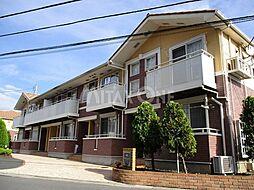 神奈川県川崎市多摩区菅稲田堤2丁目の賃貸アパートの外観