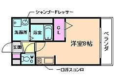 プラティーク[2階]の間取り