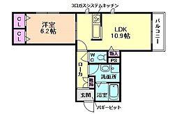 ShaMaisonLeoune(シャーメゾンレオーネ)[2階]の間取り