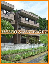 東京都あきる野市三内の賃貸マンションの外観