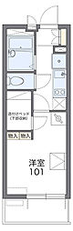 JR総武線 稲毛駅 徒歩10分の賃貸マンション 3階1Kの間取り