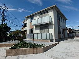 栃木県宇都宮市星が丘1丁目の賃貸アパートの外観