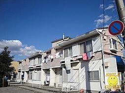 千葉県船橋市夏見台1丁目の賃貸アパートの外観