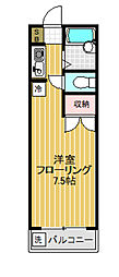 Mフラット鵜沢アパート[103号室]の間取り