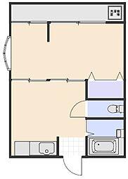 クローバーハイム[3階]の間取り