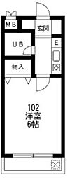 メゾンサトー[2階]の間取り