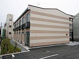 愛知県岡崎市上地1丁目の賃貸アパートの外観
