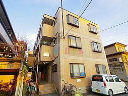 東京都羽村市神明台2丁目の賃貸マンションの外観
