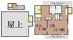 東京都大田区西蒲田5丁目の賃貸マンションの間取り