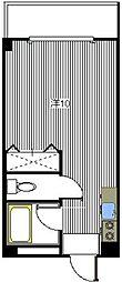 リポーズ310[403号室]の間取り