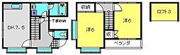 [テラスハウス] 神奈川県横浜市神奈川区神大寺1丁目 の賃貸【/】の間取り