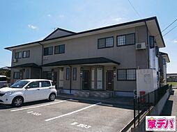 愛知県岡崎市土井町字城屋敷の賃貸アパートの外観