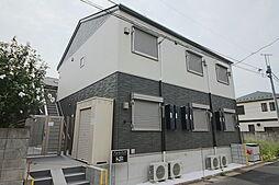 千葉県船橋市湊町1丁目の賃貸アパートの外観
