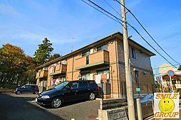 千葉県市川市堀之内3丁目の賃貸アパートの外観
