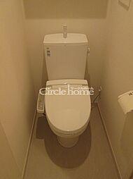 リブリ・ベイルーフ金沢八景のトイレ