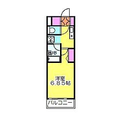 タウンハウス日吉K[2階]の間取り