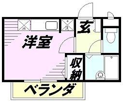 プチ・フラゴラ[2階]の間取り