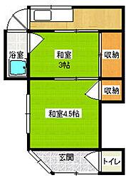 [一戸建] 福岡県古賀市千鳥2丁目 の賃貸【/】の間取り