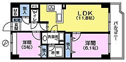 成増シティタワー[4階]の間取り