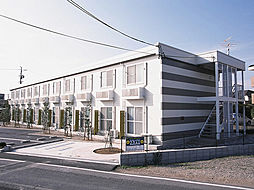 愛知県岡崎市欠町字北通の賃貸アパートの外観
