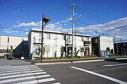 栃木県宇都宮市ゆいの杜8丁目の賃貸アパートの外観